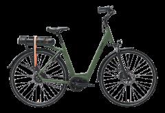 Qwic Premium MN 8 Belt E-bike Army Green Dames