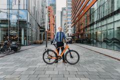 Qwic Performance RD 11 Speed E-bike Dutch Orange Heren