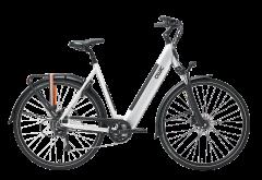 Qwic Urban RD 9 E-bike Dames Brushed Aluminium Dames