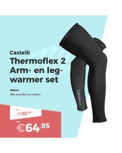 Castelli Thermoflex 2 Arm- en Beenstukken Set
