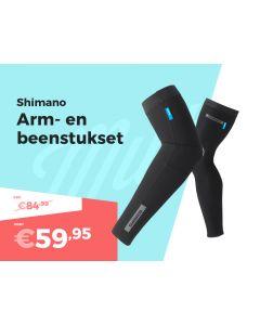 Shimano Arm- en Beenstukken Set